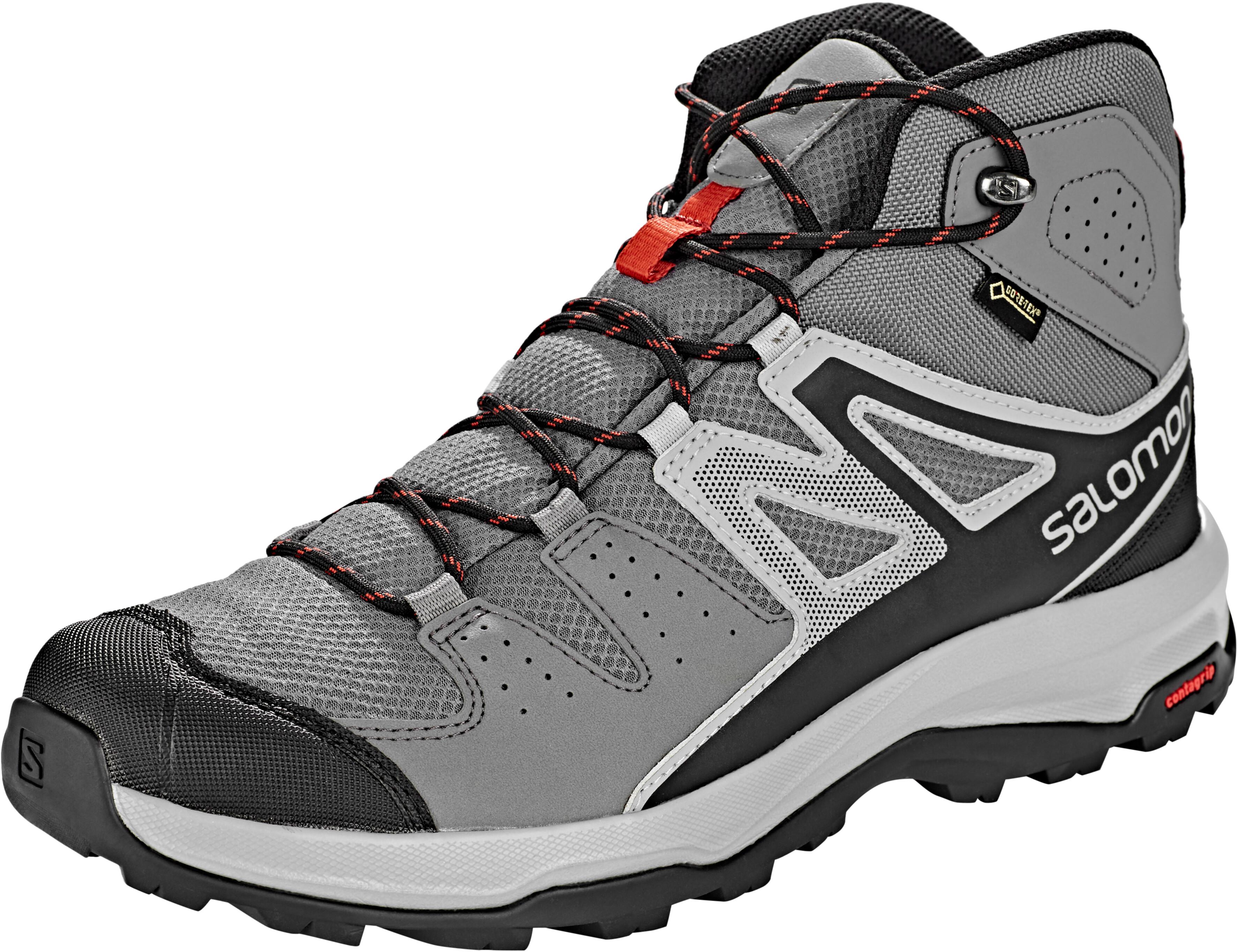 95420760 Salomon X Radiant Mid GTX Shoes Men quiet shade/quarry/bossa nova